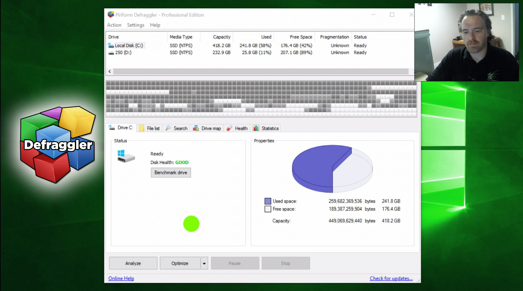How to Defragment Your Computer using Defraggler