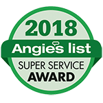 Angie's List 2018 Award