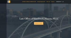Hayden Hanna, Attorney
